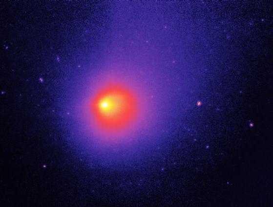 Spazio: cinque esplosioni sulla cometa 29P. Luminosità aumentata di 250 volte