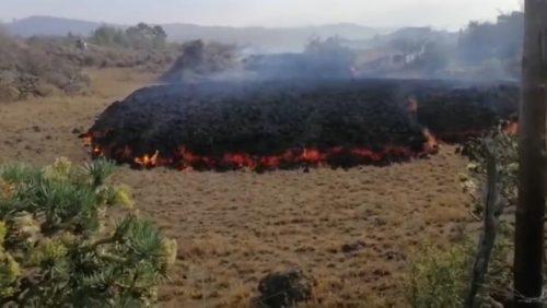 Eruzione Canarie: registrato il 'suono' della lava. 'Ricorda il vetro che si frantuma'