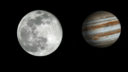 Congiunzione Luna Giove: stasera lo spettacolo astronomico