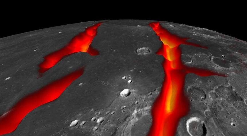 Vulcani attivi sulla Luna fino a 2 miliardi di anni fa. La scoperta