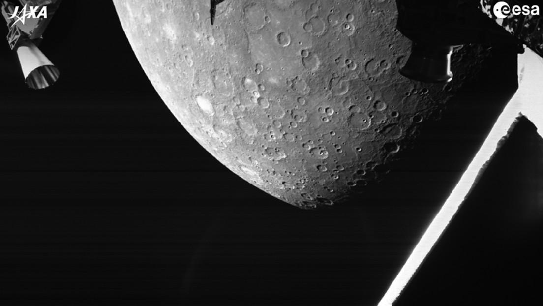 Mercurio: BepiColombo invia la prima immagine del pianeta