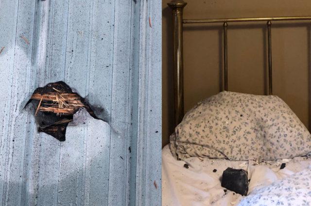 Canada: meteorite attraversa il tetto di una casa e cade sul cuscino di una donna