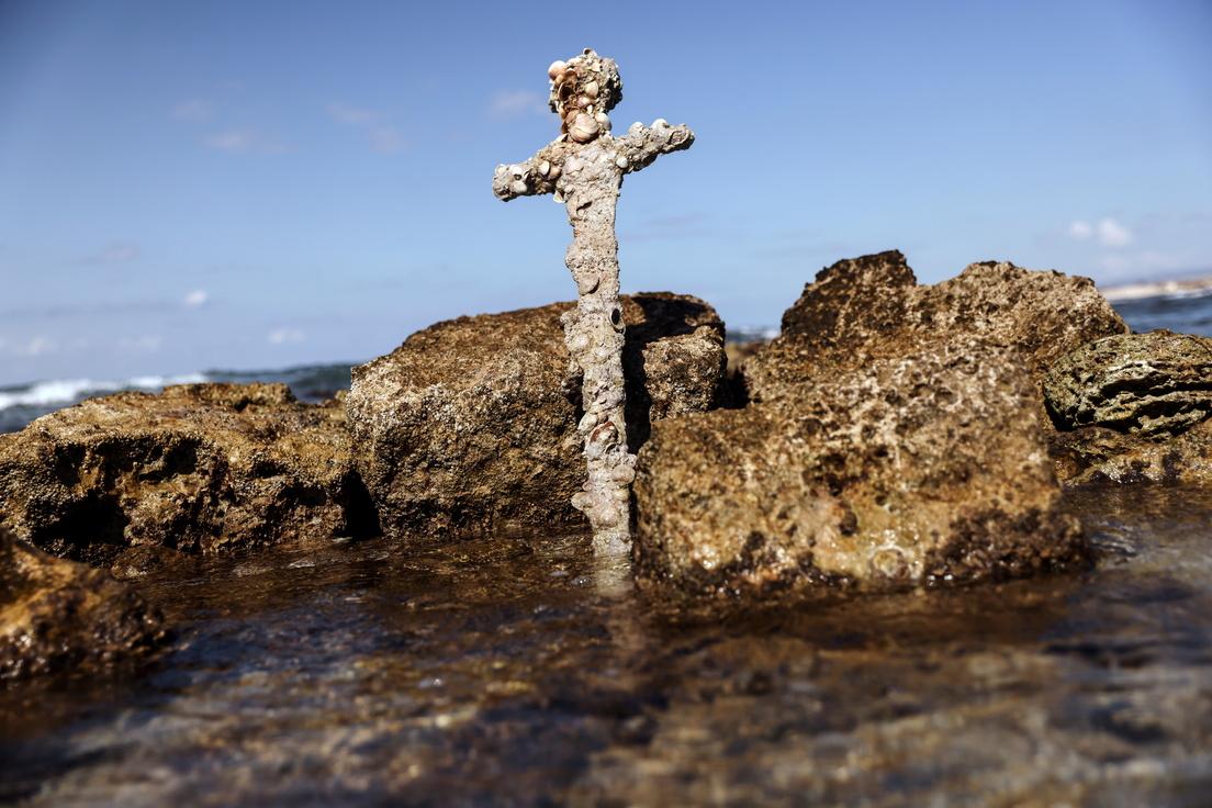 Una spada di un crociato scoperta in Israele: 'Scoperta storica'
