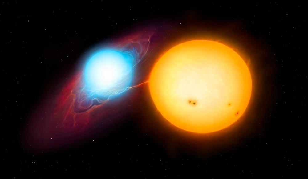 """Gli astronomi osservano una stella """"accendersi e spegnersi"""" per la prima volta"""